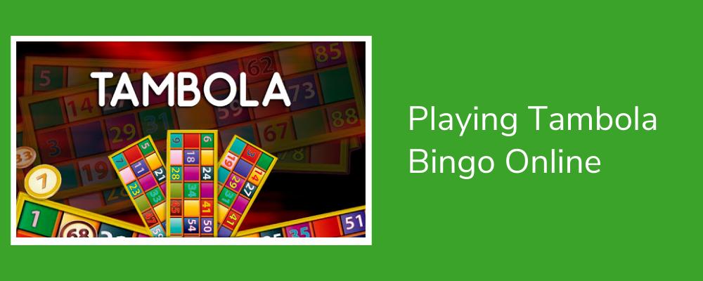 Playing Tambola Bingo Online